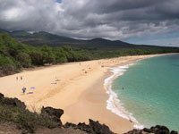 Big Beach in Makena Maui